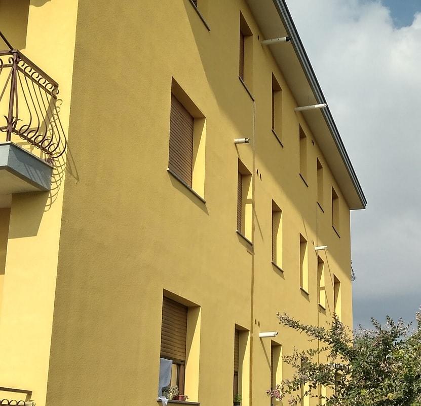 Isolamento termico a Orbassano: cappotto + insufflaggio