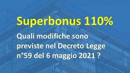 Superbonus 110%  : proroga al 2023 ? Cosa prevede il Decreto del 6 maggio 2021
